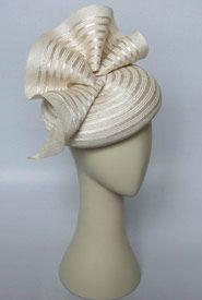 Fashion hat Hyperno, designed by Melbourne milliner Louise Macdonald $435