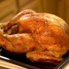 When they see your beautifully burnished bird your family will surely be impressed. When they taste it's exotic flavors, they'll be amazed. Coconut & Pomegranate marinated Turkey from @Food Republic, found at www.edamam.com.