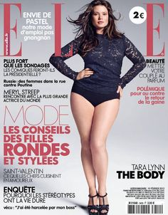 I would never look at this photo and think plus size. -- Plus Size Model Tara Lynn on Cover of French Elle Robyn Lawley, Curvy Fashion, Plus Size Fashion, Fashion Models, Fashion Photo, Curvy Models, Role Models, Girl Models, Meryl Streep