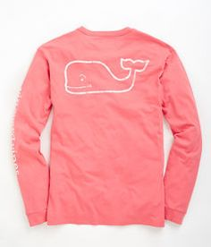 Vineyard Vines Long-Sleeve Vintage Whale Graphic Pocket T-Shirt Price: $42 Color: Any Size: XS or S