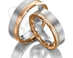 Matching Wedding BandsHis & Hers Wedding Rings10K by TallieJewelry