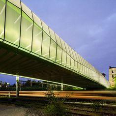 Choisy-le-Roi bridge by Jacques Ferrier Architectures