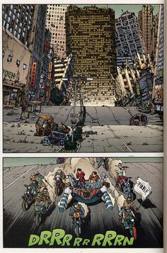 beatscomicsandlife: Akira epic comics issue 30