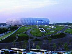 Allianz Arena München - Detail 09/2005