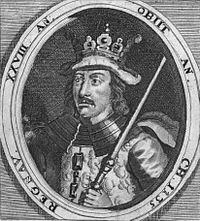 Niels, King of Denmark (1065 - 1134). King of Denmark from 1104 until his death in 1134. He married twice and had two children.