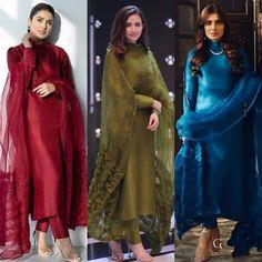 Asian Wedding Dress Pakistani, Simple Pakistani Dresses, Pakistani Fashion Party Wear, Pakistani Dress Design, Pakistani Outfits, Indian Outfits, Casual Indian Fashion, Indian Fashion Dresses, Indian Designer Outfits