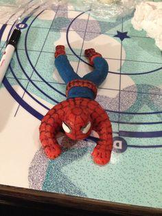 Spiderman z marcipánu