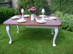 The Queen Anne Table Revisited And A False Alarm Victorian Dining TablesEggshell PaintFurniture
