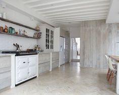 white barnwood wall