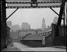 Boston from Broadway. 1935. Boston Public Library via Flickr.
