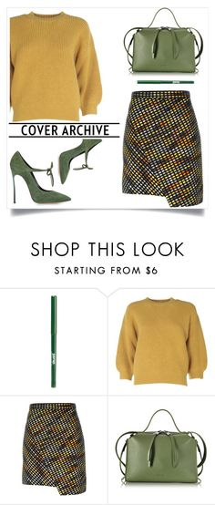 """Untitled #457"" by jovana-p-com ❤ liked on Polyvore featuring jane, 3.1 Phillip Lim, MSGM, Jil Sander and Casadei"