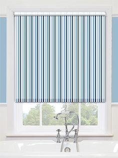 This Is The Perfect Blind To Add A Little Colour Into Your Bathroom Whilst Remaining