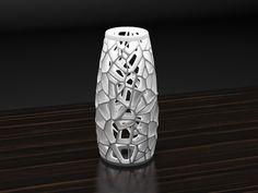#3DPrintede #Voronoi #Lamp _Designed by Markellov , www.likefigures.com