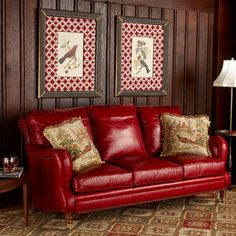 beautiful red leather sofa from the source collection. beautiful ideas. Home Design Ideas