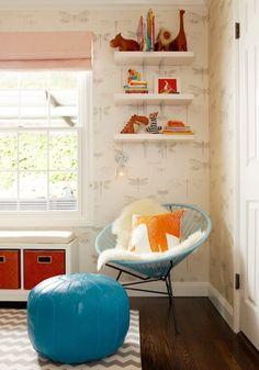 Transformação do quarto do bebê: de menino para menina