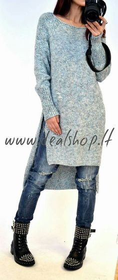 pullover - Out Trend Clothes Cool Sweaters, Sweaters For Women, Poncho, Casual Fall Outfits, Crochet Fashion, Knitting Designs, Sweater Fashion, Crochet Clothes, Knit Dress