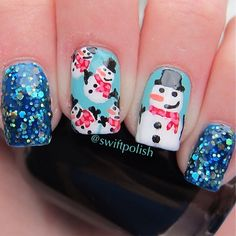 christmas by swiftpolish #nail #nails #nailart