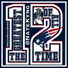 New england patriots happy birthday card greeting card for Does tom brady have a tattoo