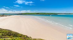 Another jewel in the crown of north Cornwall beaches. This is Brea Beach between Rock and Daymer Bay and it is a stunning stretch of sand!
