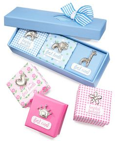 First Impressions Baby Boys' or Baby Girls' Memory Box Set - Kids & Baby - Macy's