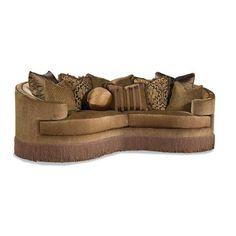 3396 Traditional Fringe Skirt Sofa by Huntington House - Baer's Furniture - Conversation Sofa Miami, Ft. Lauderdale, Orlando, Sarasota, Naples, Ft. Myers, Florida