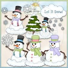 Image result for let it snow clipart