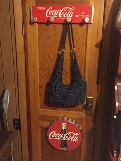 Clothes rack from EBay. Coke lid from Brandy and Mark Coca Cola Decor, Coca Cola Bottles, Coke, Ebay, Clothes, Collection, Outfits, Coca Cola, Clothing