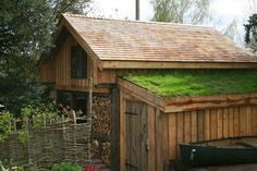 timber framed building turf roof - Google Search