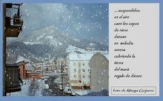 la primera nevada en el pais basco