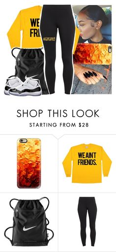 """""""what a wicked way to treat the girl that loves you."""" by lamamig ❤ liked on Polyvore featuring Casetify, NIKE, Maidenform and Concord"""