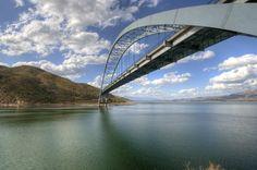 BRIDGES OF ALL KINDS | Roosevelt Dam Bridge - Tucson Photo Blog