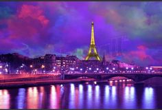 Eiffel Tower at night City Skyline Wallpaper, Cityscape Wallpaper, Wallpaper Murals, Eiffel Tower At Night, Eiffel Towers, How To Remove, Building, Travel, Quote