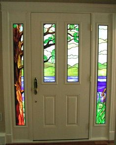 167 Best Stained Glass Doorwindow Ideas Images Leaded Glass