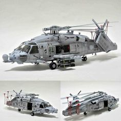 Sikorsky HH-60H Sea Hawk 1/72 HobbyBoss. Modeler Tom Cat