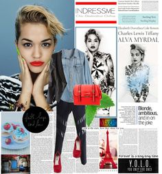 """""""Rita Ora (with indressme.com)"""" by dora04 ❤ liked on Polyvore"""