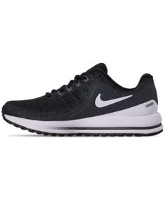 6bfa53c93d9b9 Nike Women s Air Zoom Vomero 13 Running Sneakers from Finish Line - Black 6 Nike  Zoom