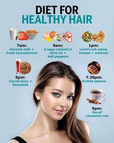 Your go-to diet guide for healthy hair