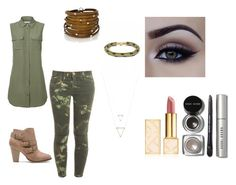 ARMY by cherishhill89 on Polyvore featuring polyvore, fashion, style, Equipment, Current/Elliott, Towne & Reese, Sif Jakobs Jewellery, Bobbi Brown Cosmetics, Tory Burch and clothing