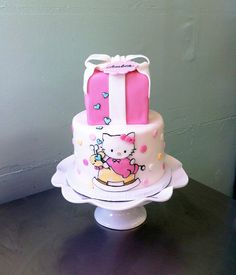 Hello Kitty Baby Shower By Emmacakes, Via Flickr