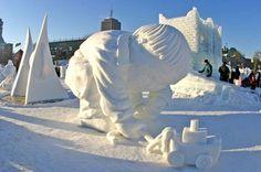 Joyeux Carnaval! Quebec Winter Carnival