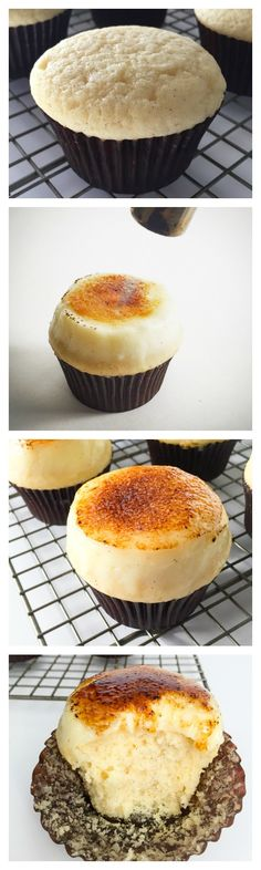 Creme Brulee Cupcakes- yet another reason to buy a kitchen torch