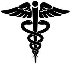 Anomia (Caduceus - symbol of medicine)