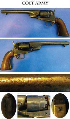 Colt Army Pistol: Standard Civil War 44 caliber Colt