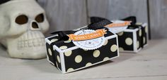 Videoserie 8 Tage Halloween - Tag 3 - Gepunktete Box mit Stampin' Up!