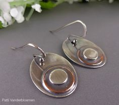 Sterling Silver and Copper  Mixed Metal  by PattiVanderbloemen