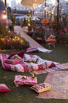 Adorable Bohemian Style Decor Idea (20)