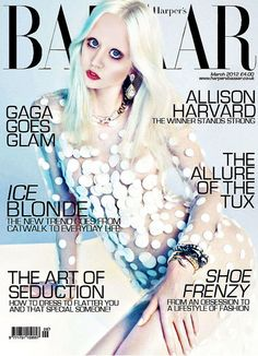 ファッション誌の表紙を飾るアリソン・ハーバード♥