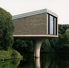 stilt house architecture ( photography by Josef Schulz)