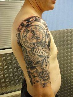 klok - www.Tattoo-Holland.nl