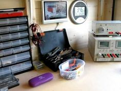 electronic lab set up